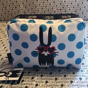 LeSportsac/Peter Jensen XL Rectangular Cos NWT
